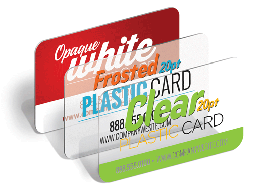 Cheap custom 20pt white frosted or transparent clear plastic custom print plastic business cards toronto mississauga reheart Gallery