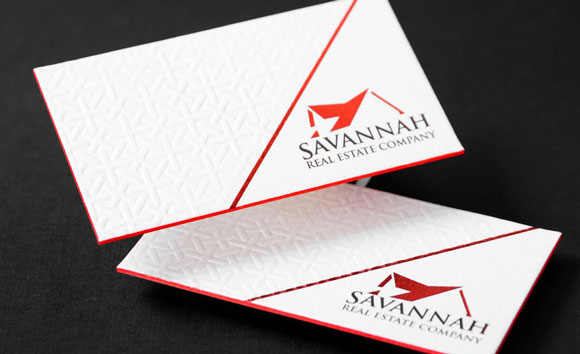 letterpress business cards canada