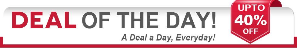 Deal of the Day- A Coupon a day, everyday