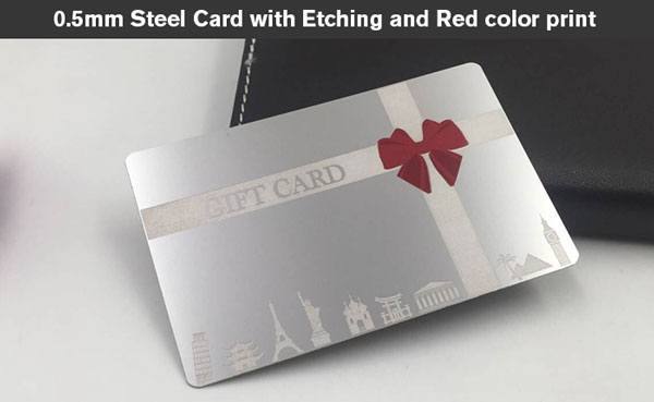 Metal business cards canada stainless steel metal business cards etch metal cards stainless reheart Choice Image