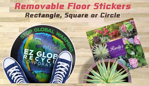 Floor stickers Mississauga Toronto Canada
