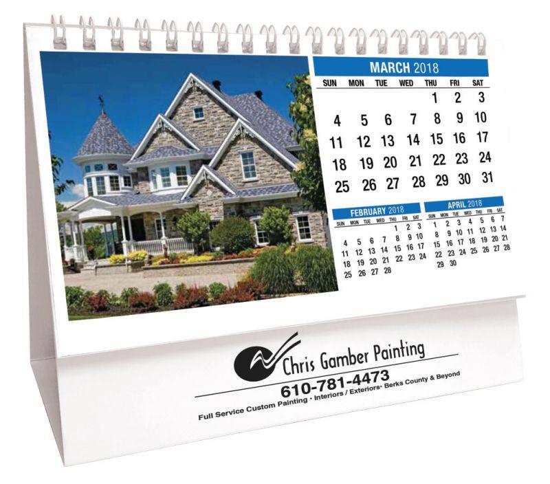 preprinted-desk-calendar