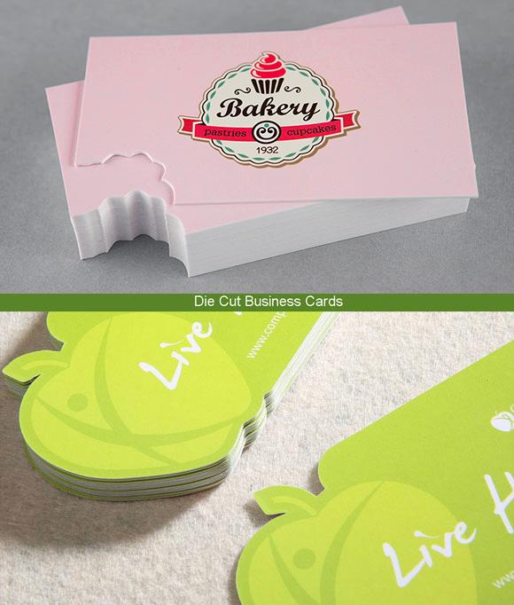 Custom shape die cut business cards unique shape cards toronto custom die cut business cards colourmoves