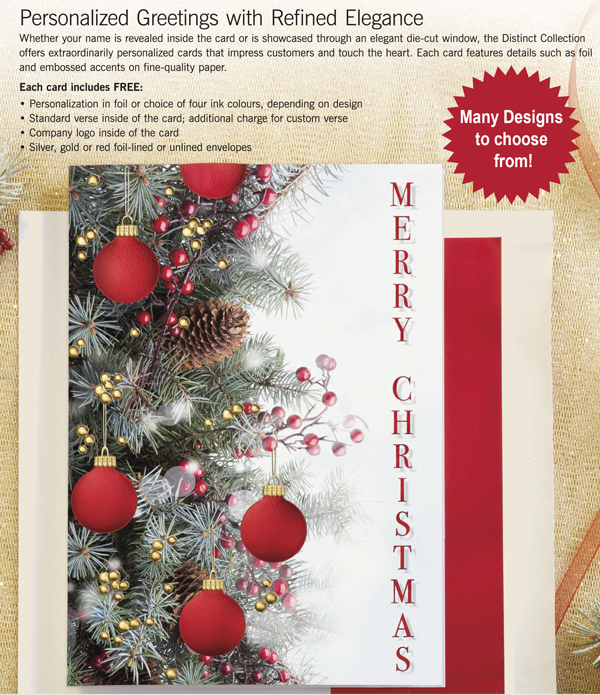 holiday christmas greeting cards