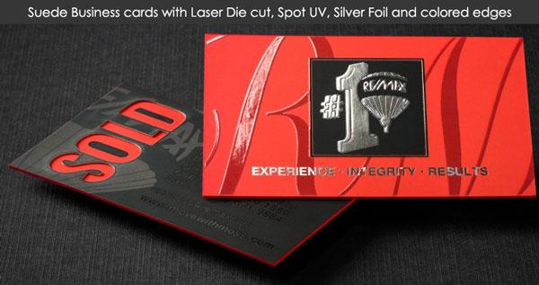 laser-die-cut cards