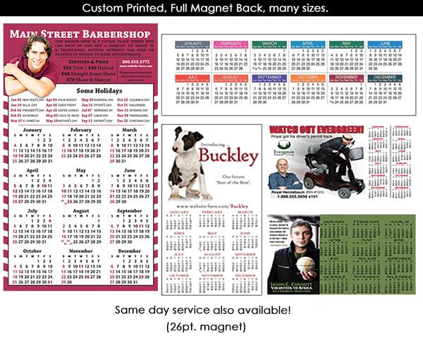cheap magnet calendar toronto canada