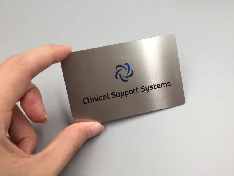Metal Business Cards Canada Stainless Steel Metal