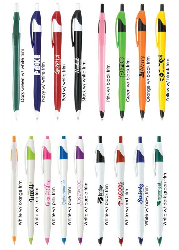 budget plastic pen