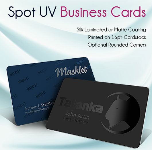 Cheapest Spot Uv Or Spot Gloss Business Cards Silk Laminated