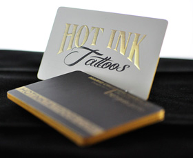 Print den printing services toronto mississauga brampton cheap embossed business cards reheart Images