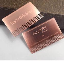 Print den printing services toronto mississauga brampton cheap rose gold metal business cards reheart Images